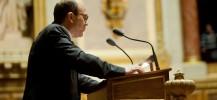 André Gattolin à la tribune de l'orateur - Crédits photos : CL/ Sénat