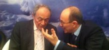 André Gattolin avec Michel Rocard